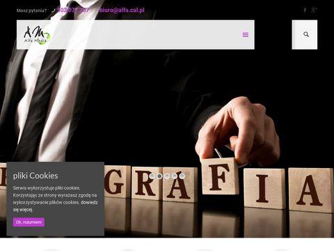 Alfamedia.com.pl - kolportaż, dystrybucja ulotek