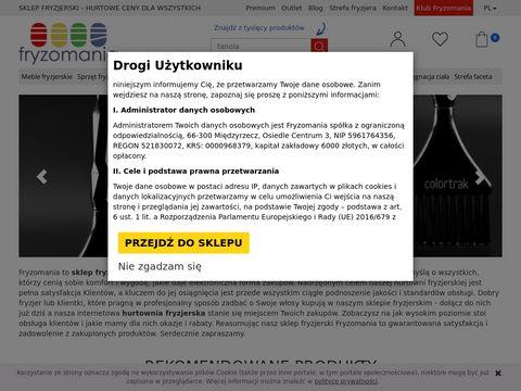Kosmetyki do włosów fryzomania.pl
