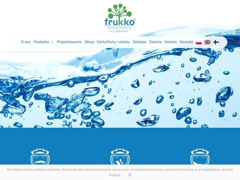 Frukko.pl biologiczne oczyszczalnie ścieków