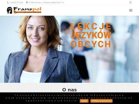 Franspol Chorzów szkoła języków obcych