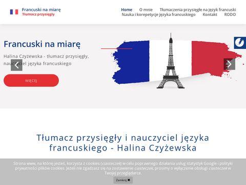 Francuskinamiare.pl