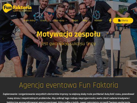 Funfaktoria.pl agencja eventowa Poznań