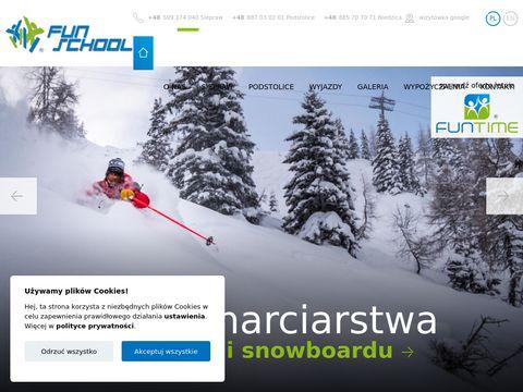 Funschool.pl szkoła narciarska Kraków