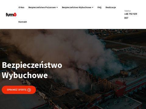 FUMO ochrona przeciwpożarowa i BHP