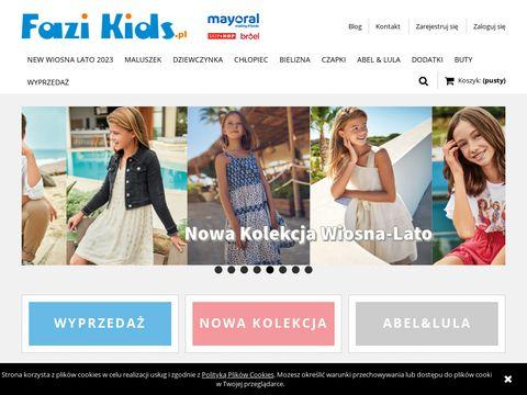 Fazikids.pl - ubrania dla dzieci