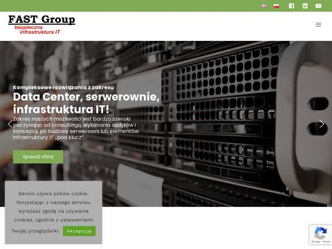Fast Group Serwerownia