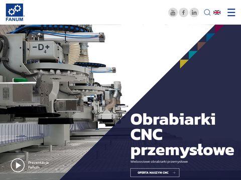 Fanum.pl maszyny CNC obrabiarki