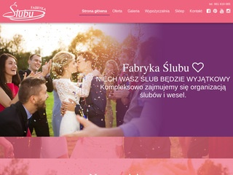 Fabrykaslubu.pl dekorowanie kościołów