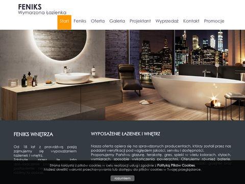 Feniks - glazura i wyposażenie łazienek