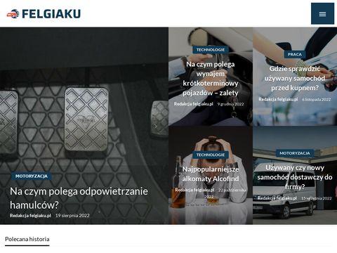 Felgiaku.pl alu felgi opony sprzedaz Piła