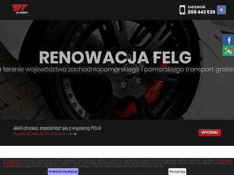 Felgitrojmiasto.pl malowanie alu Gdańsk