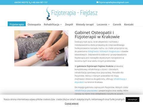 Jakub Fiejdasz - fizjoterapia w Krakowie