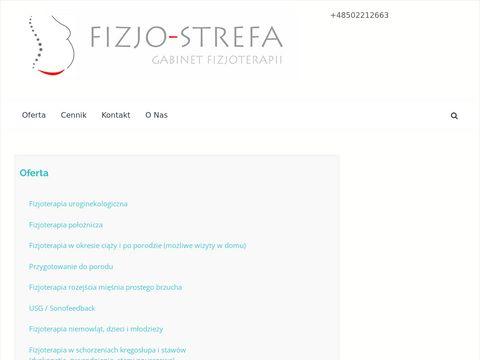 Fizjo-strefa.pl to czas dla Twojego zdrowia