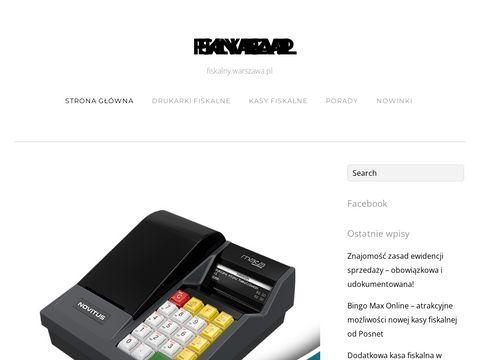 Fiskalny.warszawa.pl - na temat kas