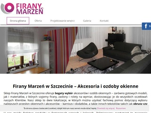 Firany-marzen.pl karnisze Szczecin