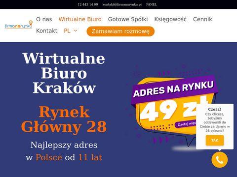 Firmanarynku.pl wirtualne biuro Kraków