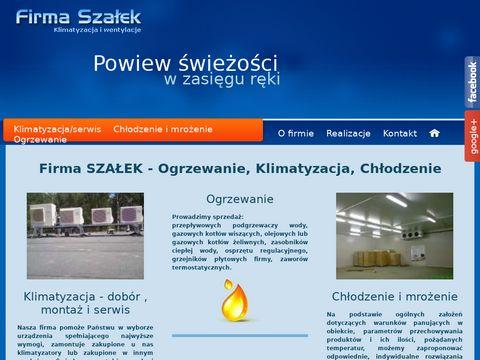 Szałek G klimatyzacja Łódź firmaszalek.pl