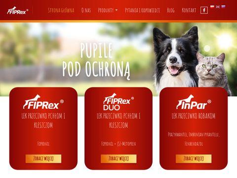Fiprex.pl preparat na kleszcze dla kota