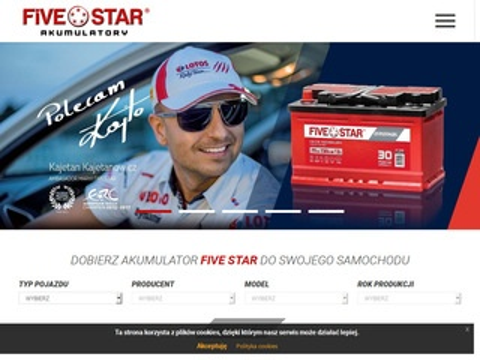 Fivestar.pl akumulator motocyklowy