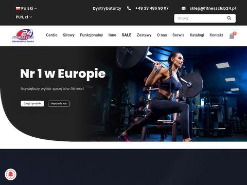 Fitnessclub24.pl sprzęt cardio