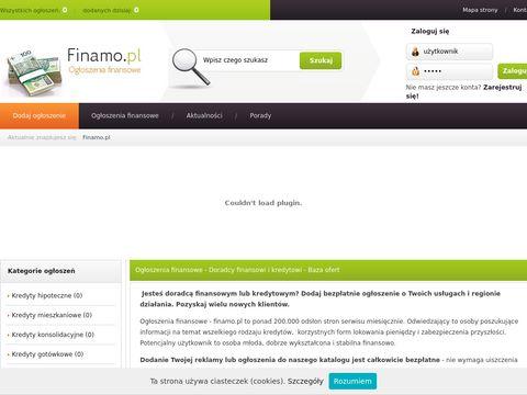 Finamo - ubezpieczenia i kredyty