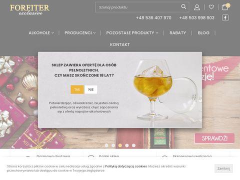 Forfiterexclusive.pl gin sklep