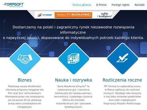 Formsoft.pl programy dla firm i biur rachunkowych