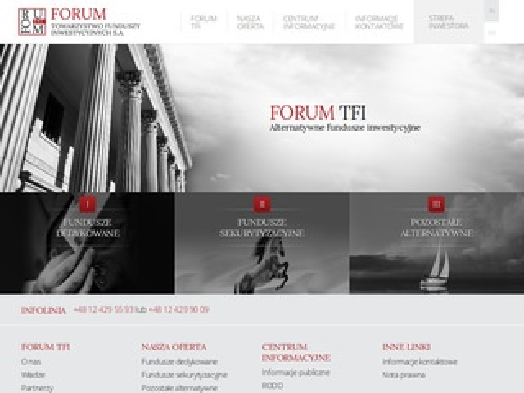Forum TFI - towarzystwo funduszy inwestycyjnych