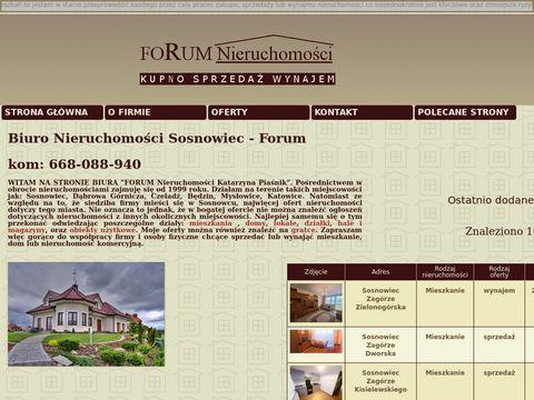 Forum-sc.pl - mieszkana na sprzedaż w Sosnowcu