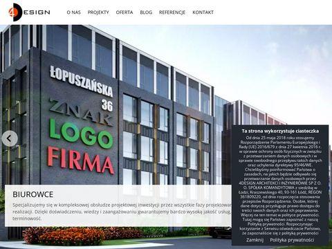 Fourdesign.pl biuro architektoniczne Łódź