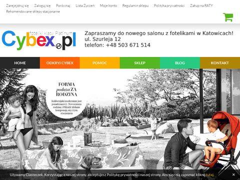 Foteliki-cybex.pl - sklep wózki i akcesoria