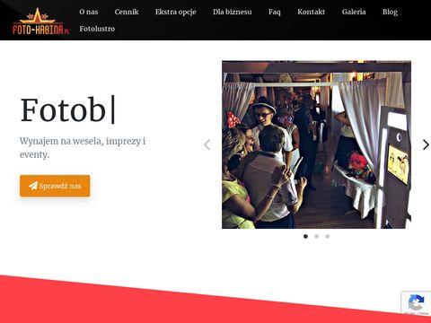 Foto-kabina.pl fotobudka wynajem