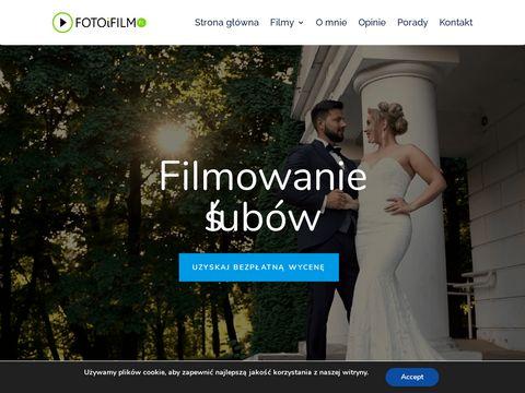 Wideofilmowanie ślubów w mieście Lubin fotoifilm.pl