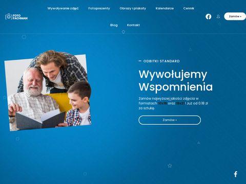 Fotofachman.pl - wywoływanie zdjęć przez internet