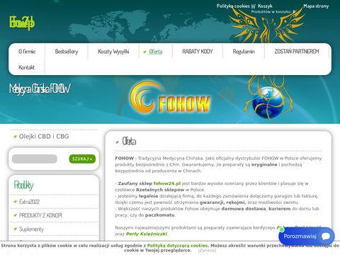 Fohow.info5.pl Kordiceps sklep