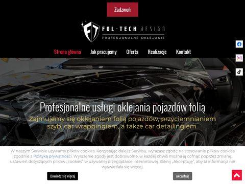 Fol-Tech Design przyciemnianie szyby