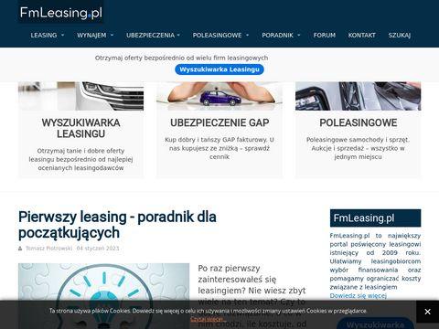 FM Leasing - Najlepsze firmy leasingowe