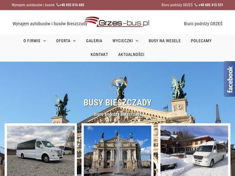 Grzes-bus.pl - busy Bieszczady autobusy