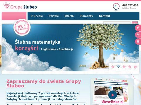 Grupaslubeo.pl - portale weselne