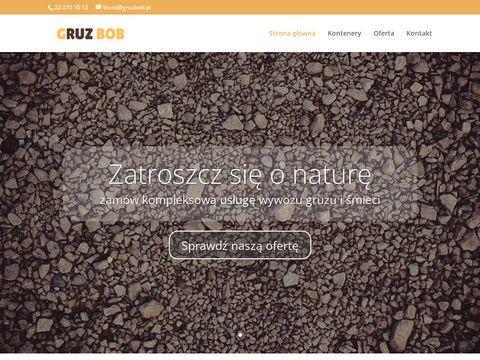 Gruzbob.pl wywóz odpadów Warszawa