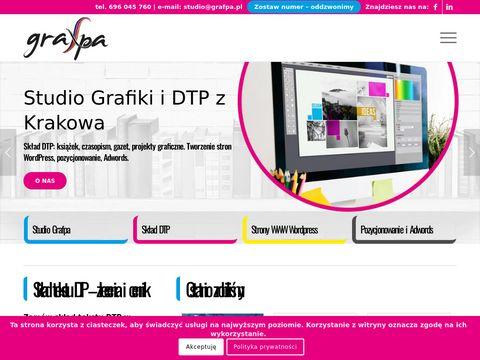 Grafpa.pl - skład tekstu, DTP