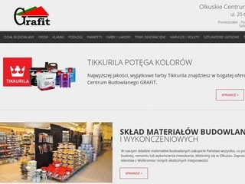 Grafit systemy dociepleń budynków Olkusz