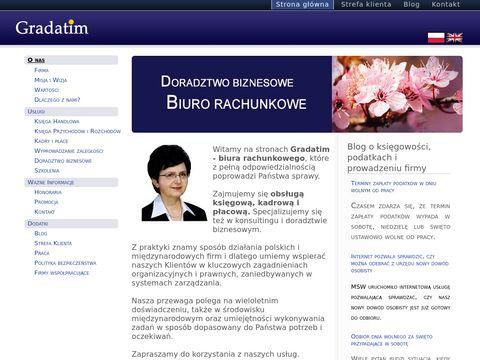 Gradatim - biuro rachunkowe Warszawa