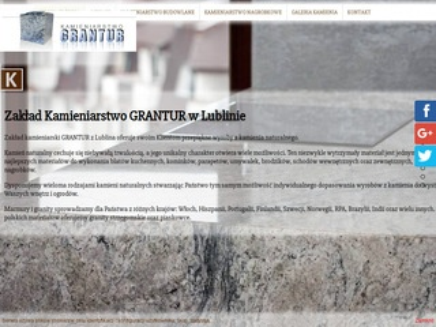 Grantur firma kamieniarska Lublin