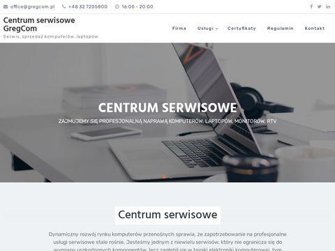 Gregcom.pl serwis laptopów