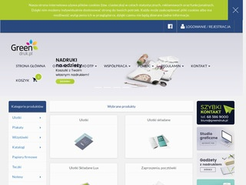 Drukarnia Internetowa GreenDruk.pl