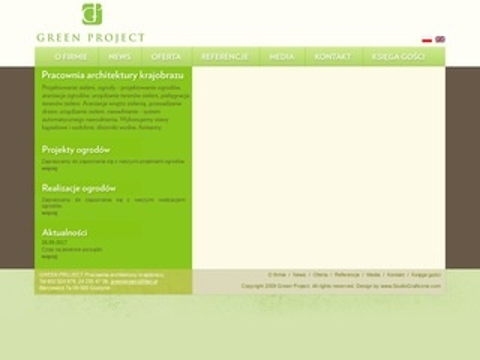 Greenproject.pl - projekt ogrodu