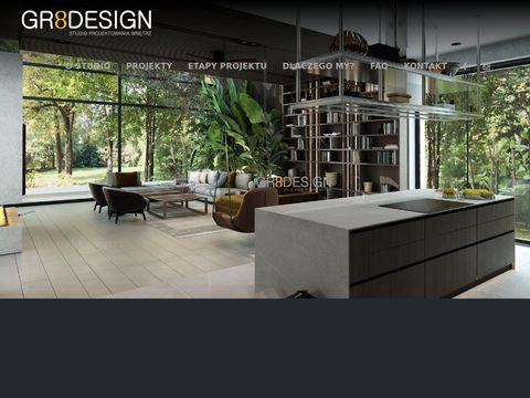 Gr8design.pl - architektura wnętrz
