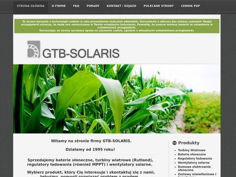 GTB-SOLARIS - Baterie Słoneczne