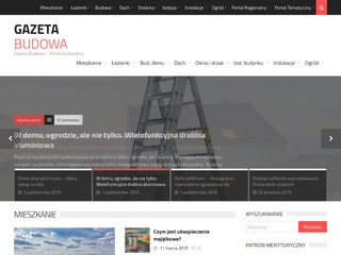 Gazetabudowa.pl - portal budowlany